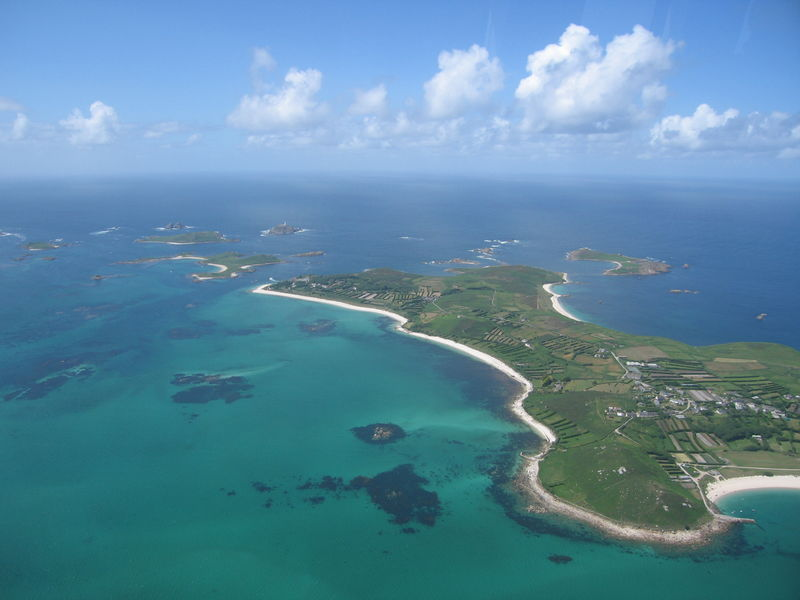 St. Martin's from the air
