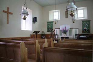St. Martin's church interior